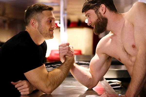 Sneak Peek of Last Call Part 2 of Colby Keller fucking Paul Wagner