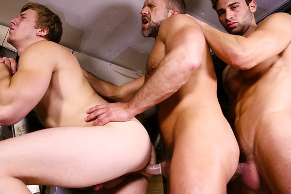 Sneak Peek of Men For Sale Part 3 of Jarec Wentworth fucking Dirk Caber & Tom Faulk