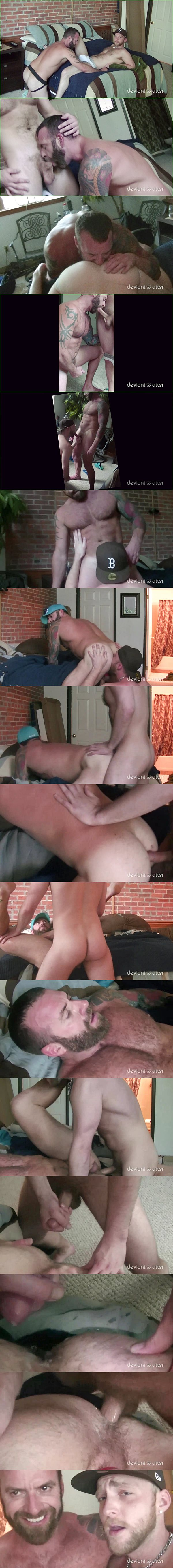 Devian Totter barebacks and breeds a hot Aussie muscle daddy who looks like Hugh Jackman in Breeding an Aussie Daddy at Deviantotter 02