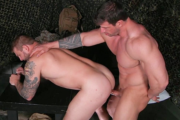 A sneak peek of Zeb Atlas fucking Colby Jansen in Tour Of Duty Part 1 at Drillmyhole