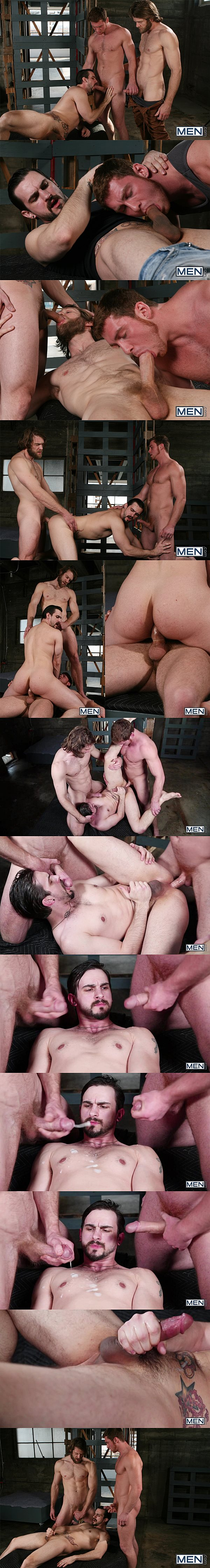Masculine Colby Keller & Connor Maguire fuck Phenix Saint's tight ass with big cumshots in Cum Right In at Drillmyhole 02