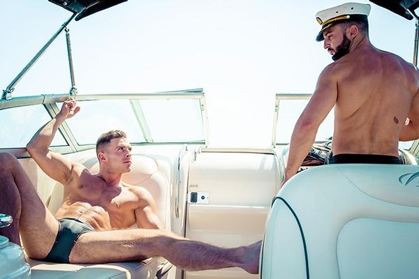 A sneak peek of Abraham Al Malek fucking Paddy O'Brian in Men In Ibiza Part 2 at Drillmyhole 01