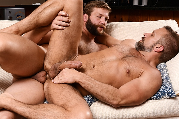A sneak peek of Colby Jansen and Dirk Caber having a flip-flop in Son Swap Part 1 at Drillmyhole