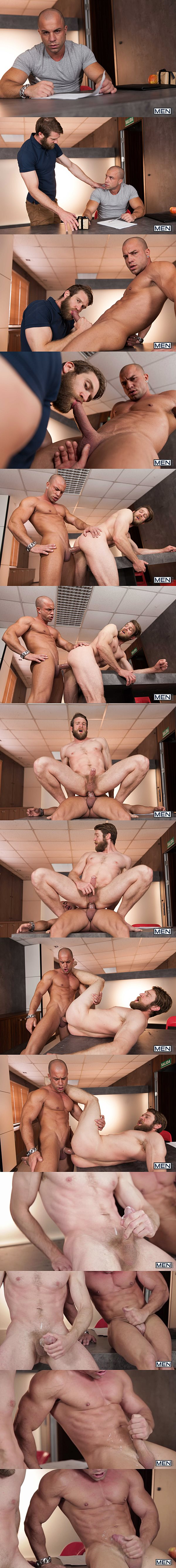 Masculine straight hunk Antonio Aguilera power fucks Colby Keller's hot muscle butt in Special Day at Men 02