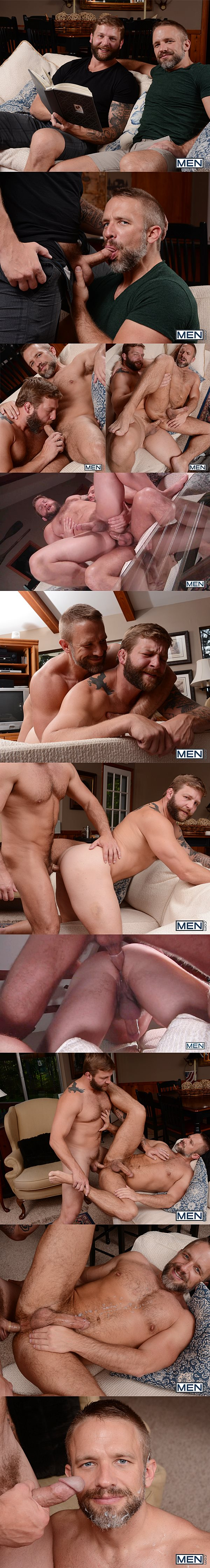 Sexy muscled Colby Jansen & Dirk Caber flip-fuck and Dirk cums while getting fucked in Son Swap at Drillmyhole 02