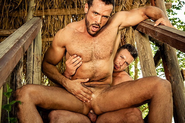 A Sneak Peek of Paddy O'Brian fucking Denis Vega in Men In Ibiza Part 4 at Drillmyhole