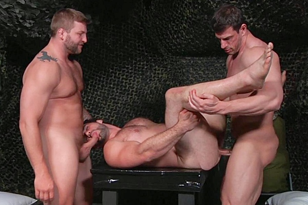 A Sneak Peek of Paddy O'Brian fucking Tony Gys in Men In Ibiza Part 3 at Drillmyhole