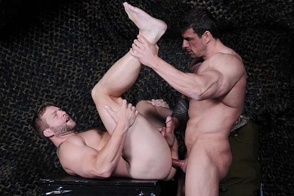 Handsome muscle god Zeb Atlas fucks a big load out of Colby Jansen Tour Of Duty Part 1 at Drillmyhole