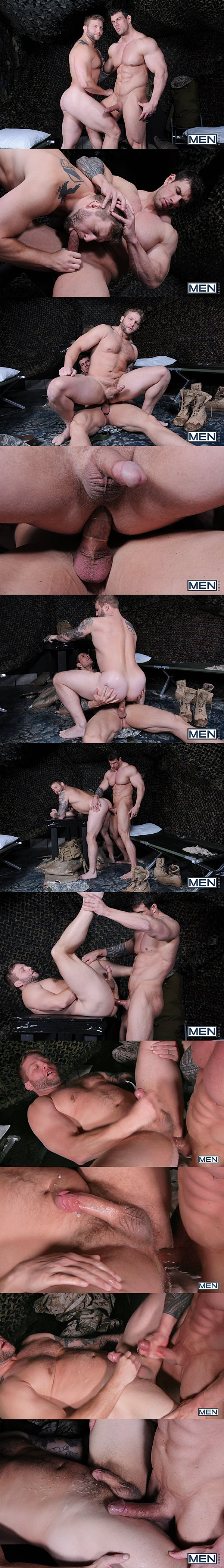 Handsome muscle god Zeb Atlas fucks a big load out of Colby Jansen Tour Of Duty Part 1 at Drillmyhole 02
