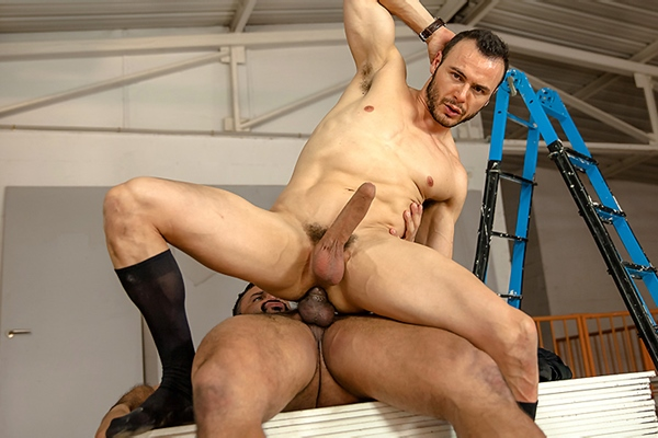 A Sneak Peek of Rogan Richards fucking Gabriel Vanderloo in The Business Of Sex Part 3 at Thegayoffice