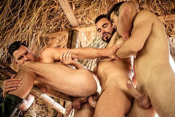 A Sneak Peek of Gabriel Clark and Jessy Ares fucking Paddy O'Brian Howl Part 2 at Drillmyhole