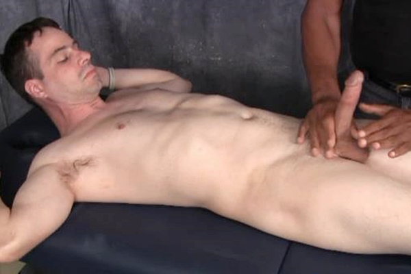 Handsome straight carpenter Joe gets his hot cum milked out of his hard cock in Joe and Chic at Slowteasinghandjobs