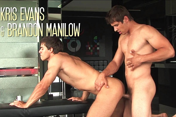 Brandon Manilow fucks Kris Evans' perfect muscle ass in The Hidden Treasure Kris Evans & Brandon Manilow at Belamionline
