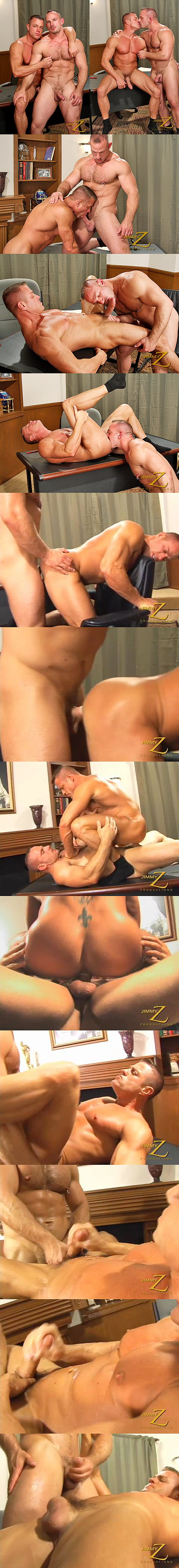Masculine Samuel Colt fucks the cum out of Tyler Saint in Job Gone Sour at Jimmyzproductions 02