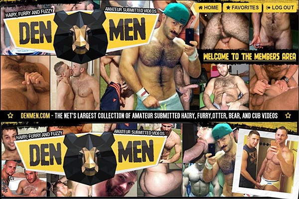 Denmen.com is the net's largest collection of amateur sumbitted hairy, furry, otter, bear and cub videos that you can't find from other places
