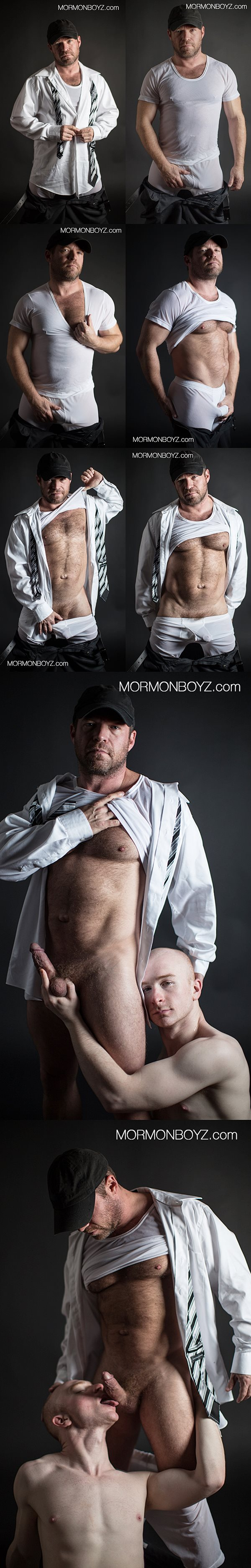 Super hot macho daddy President Woodruff at Mormonboyz 01
