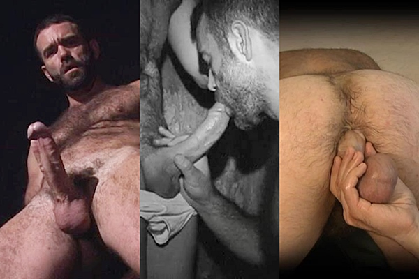 Hot muscle hunk Ray Dragon jerks off, sucks a big fat cock and & self fucks till he cums in his own ass at Raydragon
