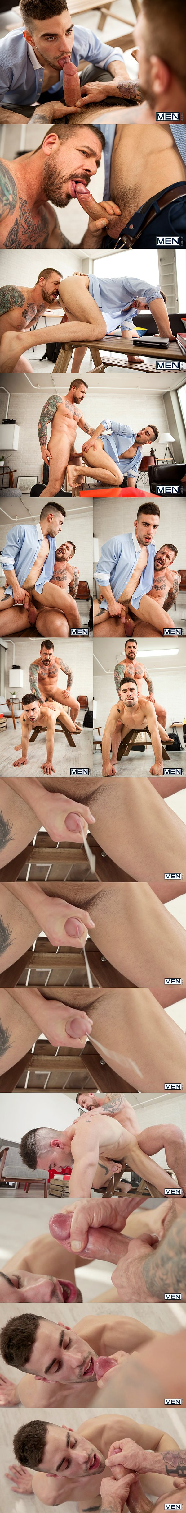 Monster-cocked Rocco Steele fucks Josh Milk's tight ass before he pounds a big load out of Josh in Eat, Prey, Fuck Part 1 at Str8togay 02