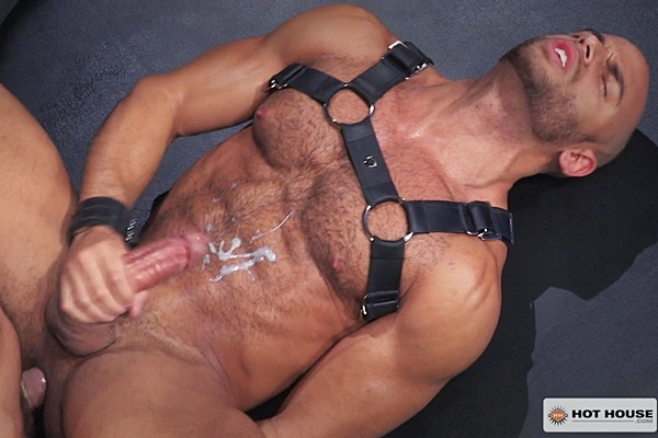 Valentin Petrov pounds Sean Zevran's hot muscle ass before he fucks a big thick load out of Sean in The Urge Pound That Butt at Hothouse