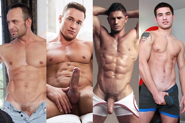 The bottoming debut of hot Russian porn star Alekos Pavlov, Alexander Volkov, Dato Foland and Vadim Black