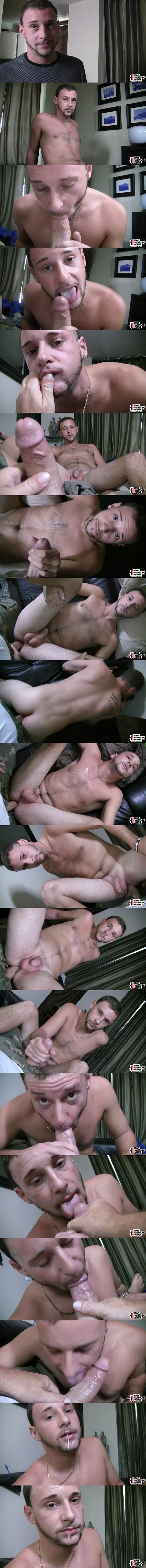 Cute straight jock Aaron gets his tight ass barebacked in Cracking Him Wide Open at Boyshalfwayhouse 02