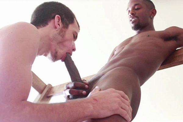 White country boy Kaden gets his virgin ass popped up bareback by a huge black raw cock in A Big Black Dick at Harlemhookups