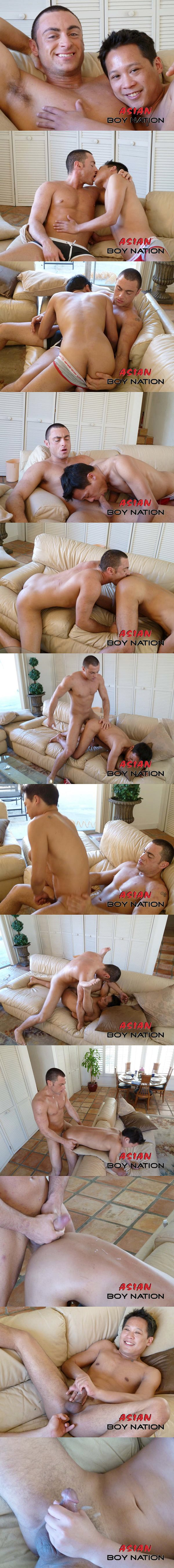 Muscle jock Tristan Phoenix fucks Danny Rohm in Porn Star Fucks Filipino Bottom at Asianboynation 02