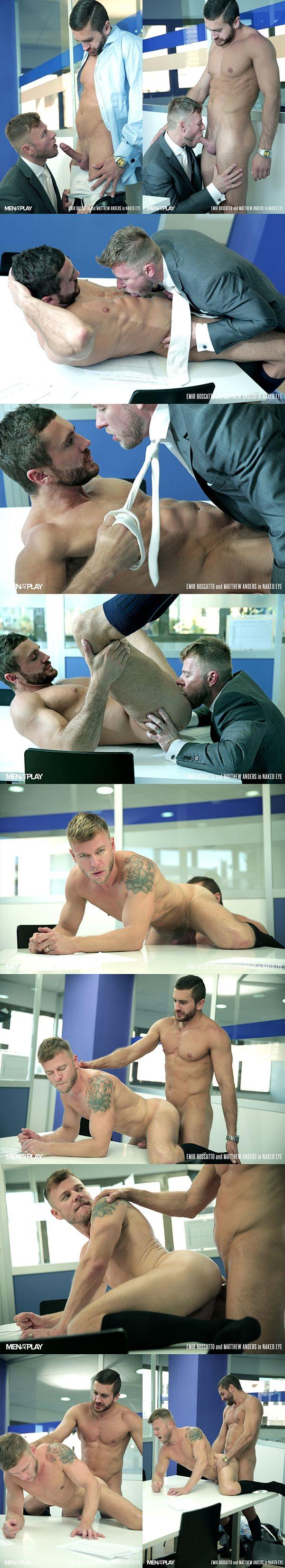 Emir Boscatto fucks Matthew Anders in Naked Eye at Menatplay