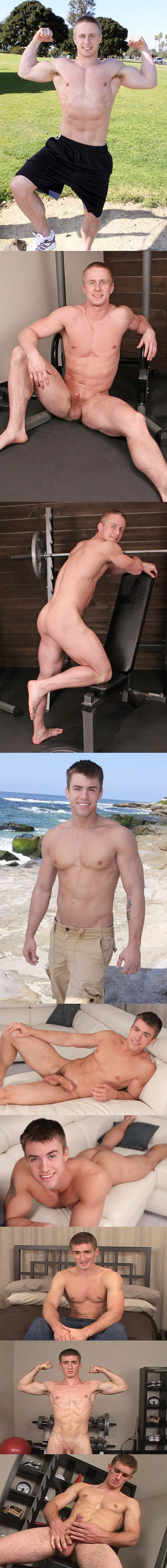 Abe, Marshall or Parker, guess who is back after being away for more than 2 years at Seancody 01