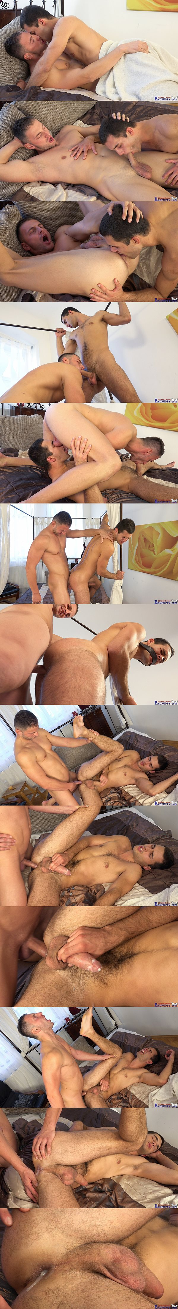 Charli Lomoz fucks the cum out of Alan Carly and creampies Alan at Williamhiggins 02