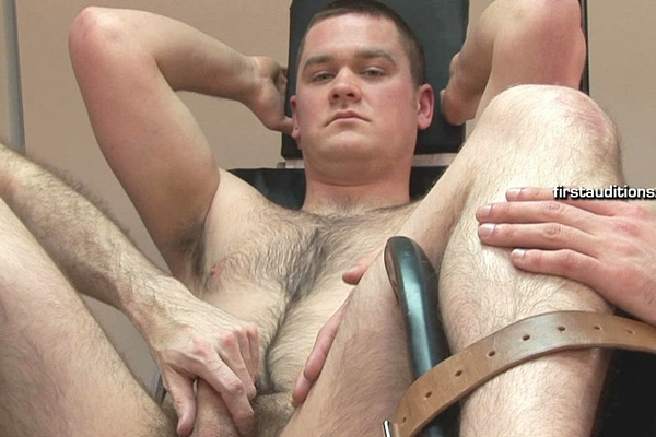 Hot athletic straight jock James touched up, deflowered and manhandled at Gropinghands