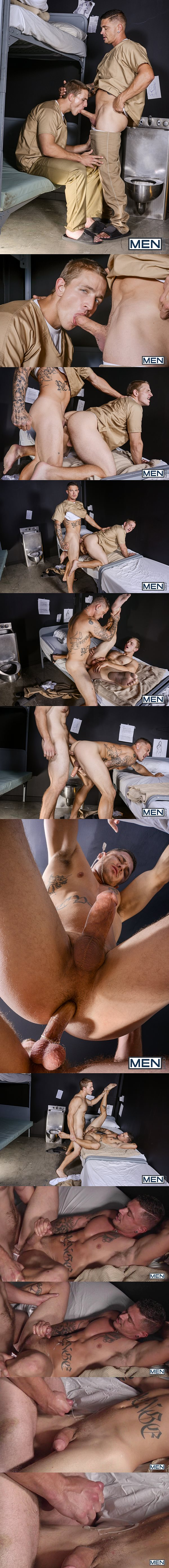 Landon Mycles & Sebastian Young flip-fuck in A Guide To Sex In Prison Part 1 at Drillmyhole 02
