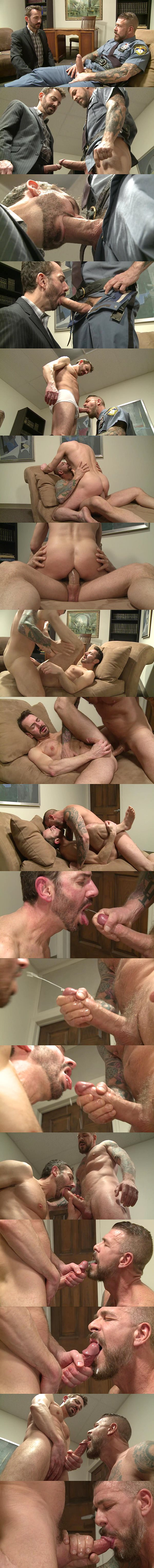 Horse hung Rocco Steele fucks Bryan Slater in Joe Gage Sex Files Vol. #19 It's a Job at Raydragon 02
