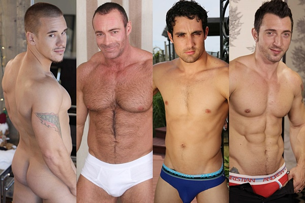Adam Bryant, Brad Kalvo, Jack King and Jimmy Durano, guess who will bottom up in Top to Bottom Part 12 at Men