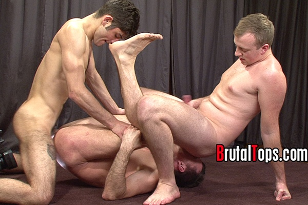Master Edward and Master Lucas tag team a feeble sub in Session 297 at Brutaltops