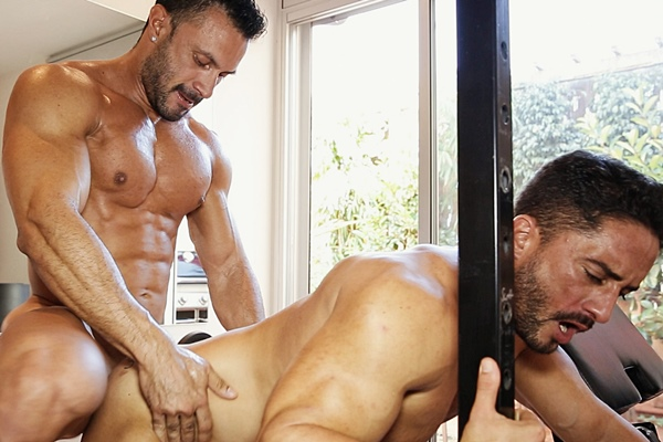 Flex fucks the cum out of hot Spanish muscle hunk Robin Sanchez at Timtales