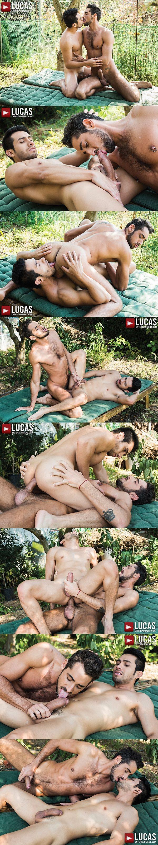 Massimo Piano barebacks and breeds Derek Allan at Lucasentertainment