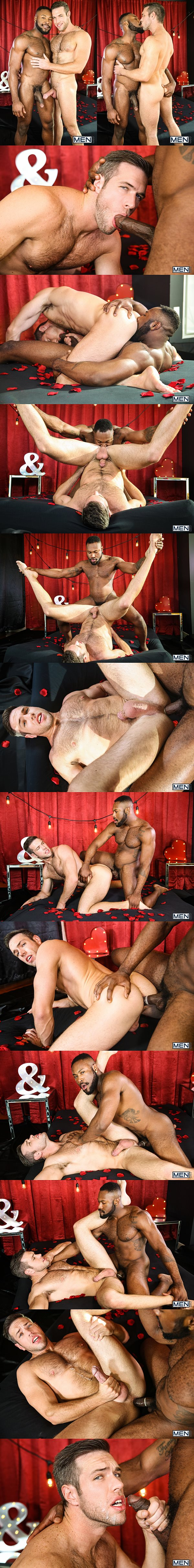Big-dicked Noah Donovan fucks the cum out of Alex Mecum in Dirty Valentine Part 2 at Men 02