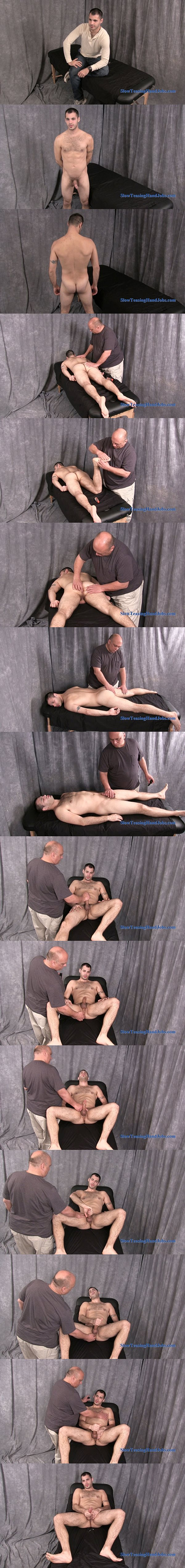 Hot store manager Kyle massaged and jerked at Slowteasinghandjobs 02