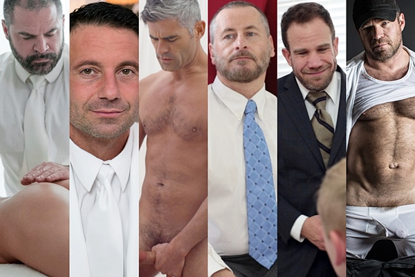 Vote for your favorite Mormon daddies - Bishop Angus, President Nelson, President Oaks, Patriarch Smith, President Wilcox, President Woodruff at Mormonboyz