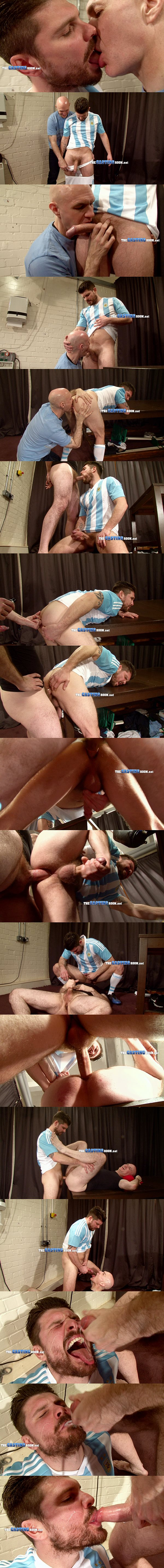 Adrian fucks hot macho hunk Lionel Kempes' tight virgin ass in Second Audition at Thecastingroom 02