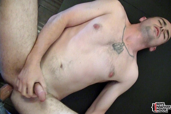 The house manager fucks straight dude Harley raw in Bareback Compliance Enforcement at Boyshalfwayhouse