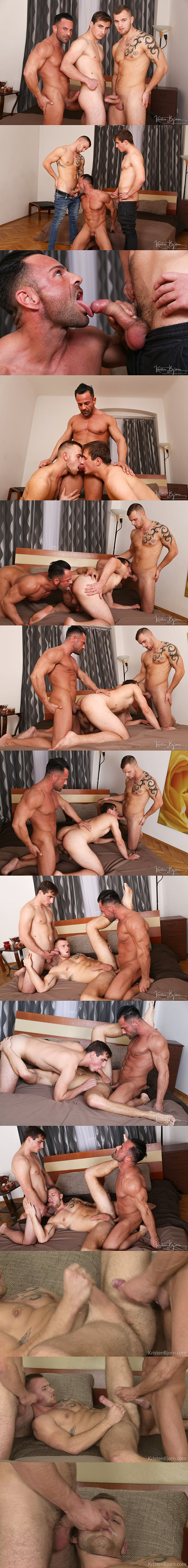 Macho daddy Alex Brando barebacks Alex Stan and Vaclav Chovanec in Strangers in Prague 3 at Kristenbjorn 02