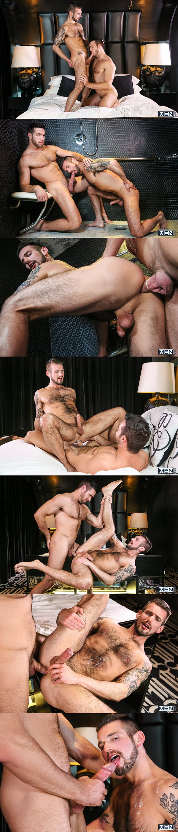 Alex Mecum fucks the cum out of Chris Harder in Married Men Part 3 at Str8togay