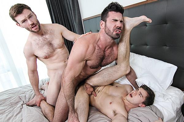 A Sneak Peek of Dennis West fucking Will Braun & Billy Santoro at Str8togay