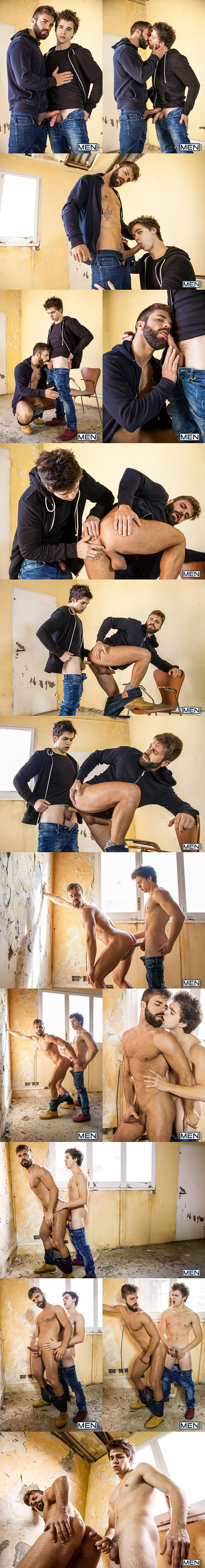 Will Braun fucks rugged handsome Hector De Silva in Lost Boys Part 2 at Drillmyhole 02
