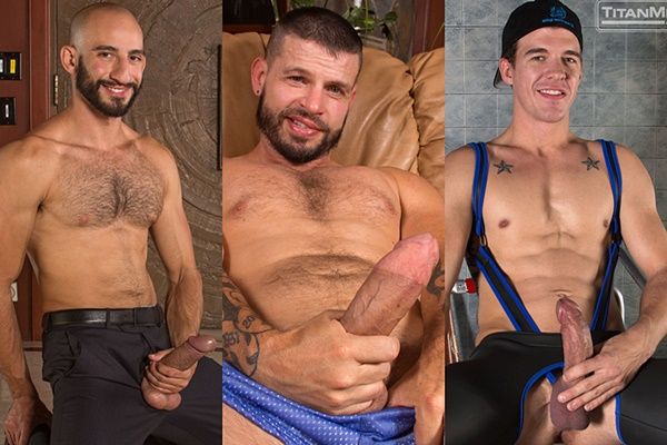 Hot scenes of three 9