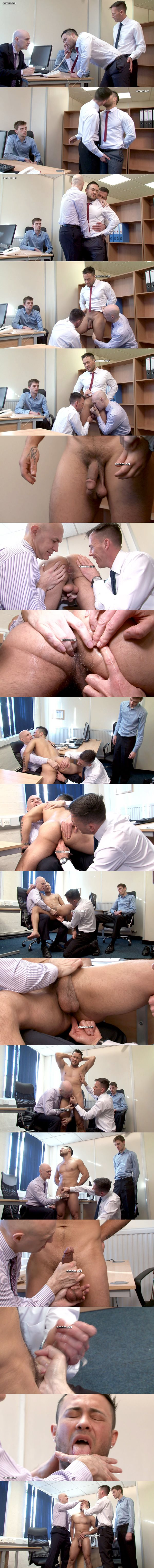 Hot personal trainer Shane gets used, ass fingered and jerked off at Cmnm 02