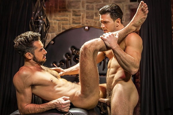 Paddy O'Brian fucks the cum out of Massimo Piano in Language Barrier Part 1 at Str8togay