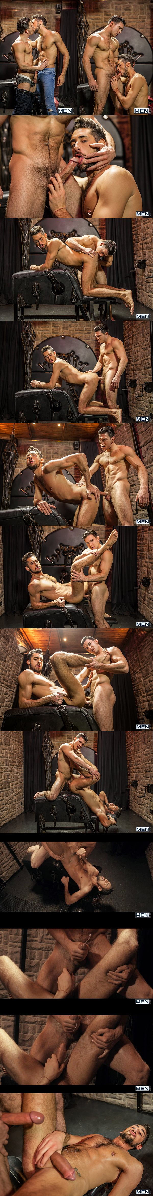 Paddy O'Brian fucks the cum out of Massimo Piano in Language Barrier Part 1 at Str8togay 02
